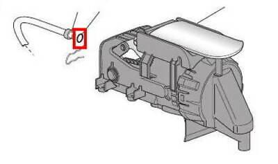 Delonghi Nespresso guarnizione doppia tubo caldaia Lattissima Magnifica Intensa 3