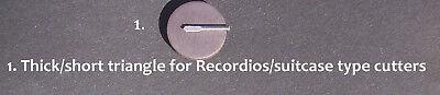 Record lathe cutting stylus presto vinyl record rek-o-kut RCA Wilcox-gay 3