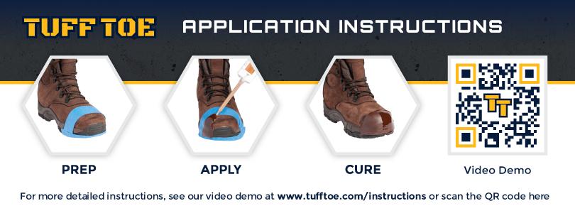 436c0f9b655 TUFF TOE ORIGINAL Formula Work Boot Toe Guard Protection & Leather Repair  Kit