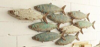 PANNELLO PESCI FISHES MEDITERRANEAN COLOR ARREDO MARE CASA VACANZE CM 140 x 36