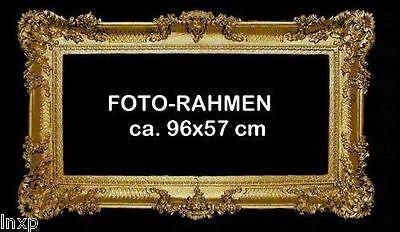MARCO DE FOTOS CUADROS BARROCO ROCOCO PALACIEGA ANTIGUO 96x57 ORO 1 4