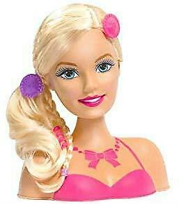 Barbie Princess Styling Head Girl Doll Accessories Gift Hair Kids Play Children 3