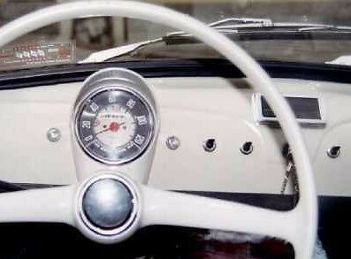 CLASSIC FIAT 500 N D SPEEDO SPEEDOMETER GLASS MILES SPEEDO BRAND NEW MPH
