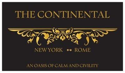 John Wick Starter Set The Continental Hotel Oath Sdcc Devil Pop Coin Sticker 11 10