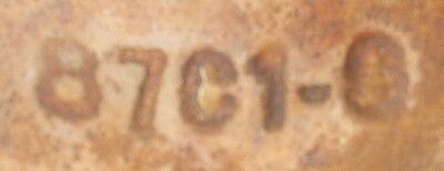 "Cast Iron Streetlight Nut Covers Antique - Set of 4 - D: 4.25"" W: 5.75"" H: 2"" 7"