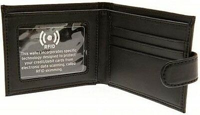 Debossed Crest Rfid Real Leather Football Club Sports Boxed Money Wallet Purse 2