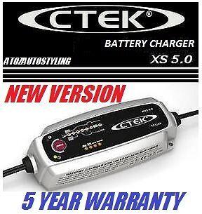CTEK Multi MXS 5.0 12V SMART BATTERY CHARGER  FULLY AUTOMATIC  VALUE PACK 6