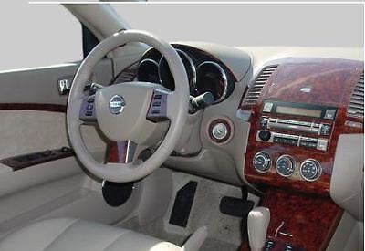 Toyota HIGHLANDER INTERIOR BURL WOOD DASH TRIM KIT SET 2003 2004 ...