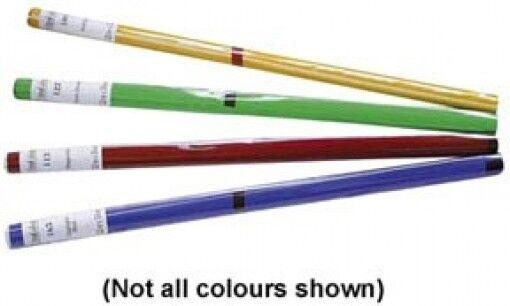 Showtec Colour Roll 122 x 762 cm  Deep Orange