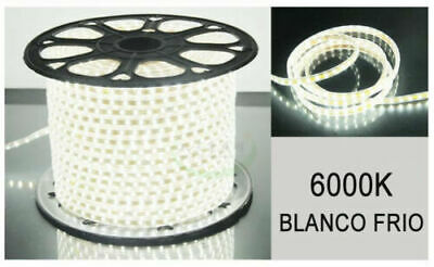 TIRA DE LED MANGUERA LUZ 220V INTERIOR IP65 ALTA ILUMINACION (120 Luces/Metro) 5