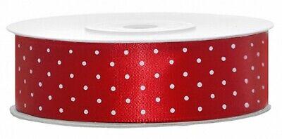1-5m  Plain & Polka Dot * Cake Decorations Satin Ribbon Various 6~12~25~38~50mm 11