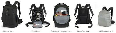 Lowepro Flipside 400 AW Pro DSLR SLR Camera Backpack Bag with All Weather Cover 2