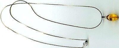 Antique 6½ct Russian Baltic Amber Gem Ancient Assyria Etruria Phoenicia Egypt Ur 2