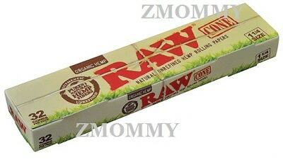 Raw Cone Loader Plus 32 Raw Organic 1 1/4 Pre Rolled Cones Combo 2