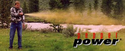 Bear Pepper Spray UDAP 7.9 ounce 2.0% Capsaicinoids 35 Ft Range 2