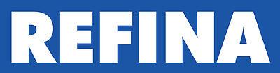 Refina Plaziflex Plastic Skimming Trowel - Foam Back - Premium Nylon Handle