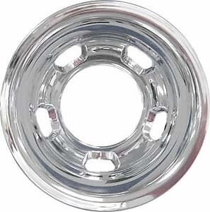 """Dodge ram 3500 17/"""" Dually Wheel Simulator SNAP ON front hubcap liner BLEM abs"""