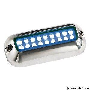 Luce subacquea a LED BIANCA/BLU faretto PLANCETTA  osculati nautica per barche 2