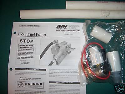 Fuel Transfer Pump GPI 137100-01 EZ-8 pump