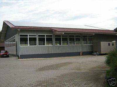 Neue Stahlhalle 20m x 20m x 4m, isoliert 9