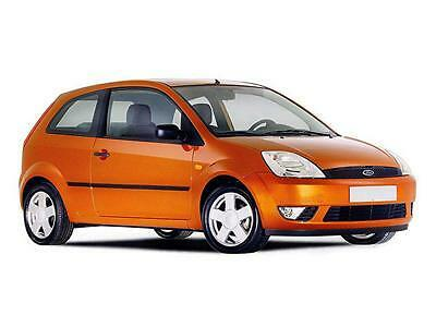 Ford Fiesta Mk6 3 Doors 2002 2008 Hatchback St 2 Pc Wind Deflectors Heko Tinted