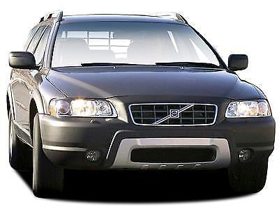 VOLVO V70 MK2 or XC70 MK1 5-doors 2000-2007 4-pc Wind Deflectors HEKO Tinted 3