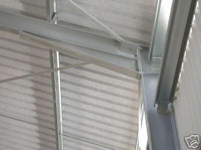 Neue Stahlhalle 16m x 25m x 4m, isoliert 7