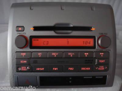 05 06 07 08 09 10 11 TOYOTA Tacoma AM FM XM Satellite Radio MP3 CD Player AD1808 2
