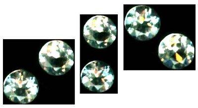 2 Antique 19thC Aquamarine Ancient Mariner's Talisman Gemstones 2