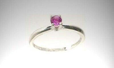 Antique 19thC Amethyst Scotland Celtic Warrior Talisman Sterling Ring 2