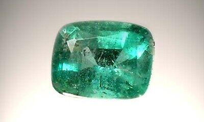 19thC Antique ½ct Siberian Emerald Medieval Chastity Honesty Intelligence Danger 3