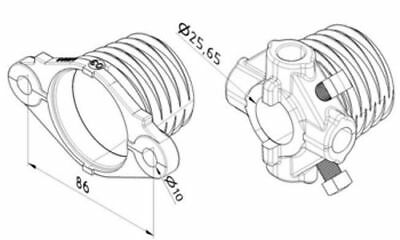 Komp.Normstahl Sektionaltorfeder Torsionsfeder Garagentorfeder typ-y 50x6,5x1182