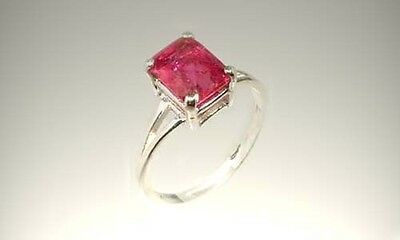 19thC Antique 2¾ct Red Sapphire Ancient Etruscan Roman Gem of Prophets Oracles 2