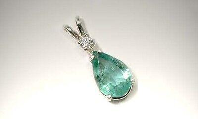 19thC Antique 2ct Siberian Emerald King Arthur Holy Grail Charlemagne Irish Gem 5