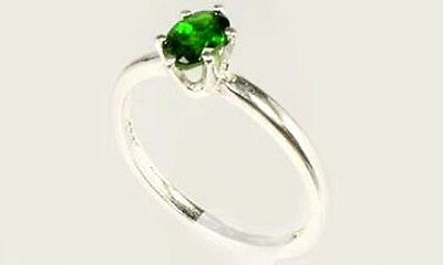 "RARE 2/3ct Russian Chrome Diopside ""Yakutsk Emerald"" Mt Vesuvius Finland Macedon 4"
