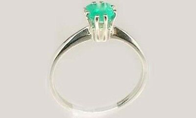 19thC Antique ½ct+ Colombia Emerald Gem of Ancient Roman General Lucullus 100BC 3