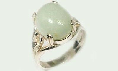 18thC Antique 9ct Aquamarine Medieval Prophecy Moonlight Recharge Crystal Balls 3