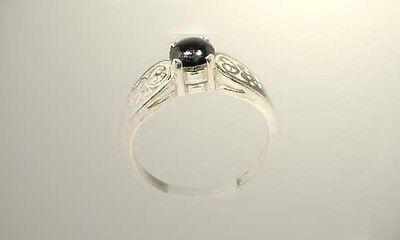 18thC Antique ¾ct Sapphire Gemstone of Ancient Greece Cronus God of Abundance 5
