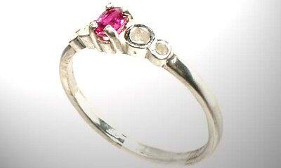 19thC Antique Rose Sapphire Medieval Gem Pope Innocent Sack of Constantinople