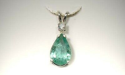 19thC Antique 2ct Siberian Emerald King Arthur Holy Grail Charlemagne Irish Gem 2