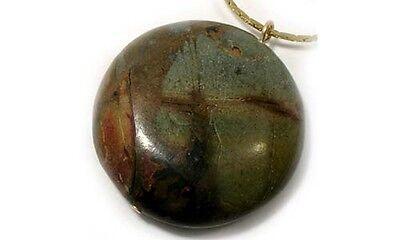 19thC Antique 62ct Nubia Jasper Greek Roman Marc Antony Intaglio Seal Cameo Gem 3