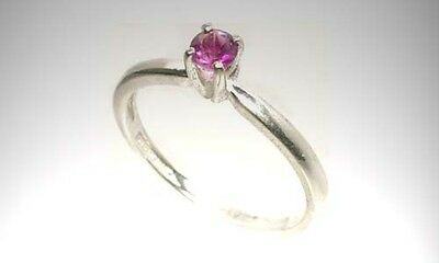 Antique 19thC Amethyst Scotland Celtic Warrior Talisman Sterling Ring 4