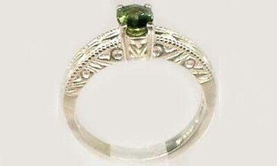 Antique 19thC ¾ct Sapphire Ancient Roman Gemstone of Saturn God of Abundance 925 4