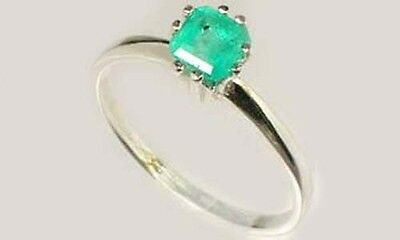 19thC Antique ½ct+ Colombia Emerald Gem of Ancient Roman General Lucullus 100BC 4