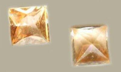 Orange Sapphire Gem of Ancient China India Turkey Silk Route 19thC Antique Gem 2