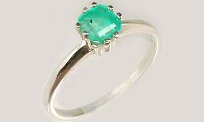 19thC Antique ½ct+ Colombia Emerald Gem of Ancient Roman General Lucullus 100BC 2