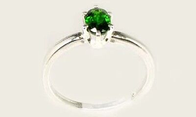 "RARE 2/3ct Russian Chrome Diopside ""Yakutsk Emerald"" Mt Vesuvius Finland Macedon 3"