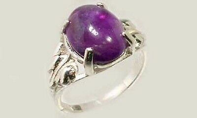 19thC Antique 3½ct Scotland Amethyst Ancient Greece Hoplite Spartan Dionysus Gem 3