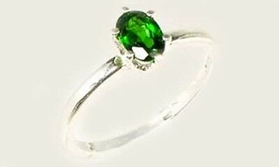 "RARE 2/3ct Russian Chrome Diopside ""Yakutsk Emerald"" Mt Vesuvius Finland Macedon 2"