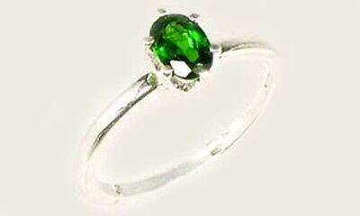 "RARE 2/3ct Russian Chrome Diopside ""Yakutsk Emerald"" Mt Vesuvius Finland Macedon"